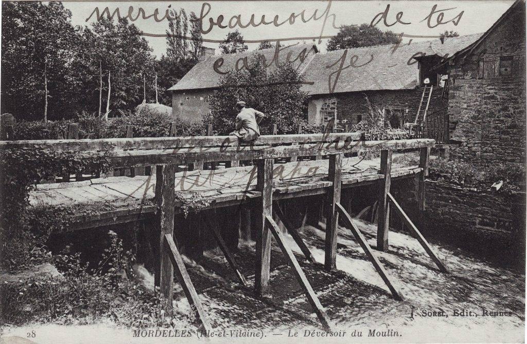 Carte postale pont